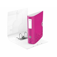 Classeur à levier Leitz Active Wow 82mm Rose