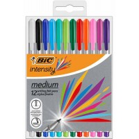 Feutre BIC BIC Intensity Medium – Étui van 12 assorti