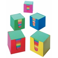 Recharge Cube Memo FOLIA Couleurs assorties