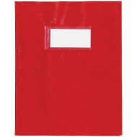 25 Couvre cahier AURORA pour cahiers A5 Rouge