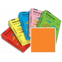 Rame de 500 Feuilles Papier Rainbow A3 80gr Orange intense