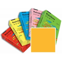 Rame de 250 Feuilles Papier Rainbow A4 120gr Orange clair
