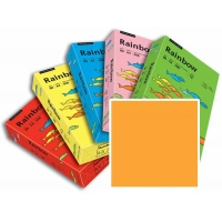 Rame de 250 Feuilles Papier Rainbow A4 120gr Orange