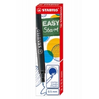 STABILO EASYORIGINAL 3 recharges medium Bleues