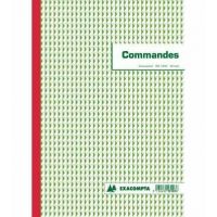 Carnet de commandes Exacompta A4 NCR 3 copies