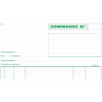 Carnet de commandes Exacompta A4 NCR 2 copies