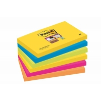 POST-IT Super Sticky 76x127mm Couleurs Rio