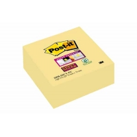 Cubes de notes Post-It Super Sticky 76x76 Jaune
