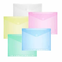 Enveloppes Foldersys A4 Couleurs Assorties