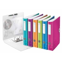 Classeur à levier Leitz Active Wow 65mm Couleurs Assorties
