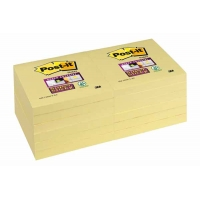 POST-IT Super Sticky 76x76mm Jaune