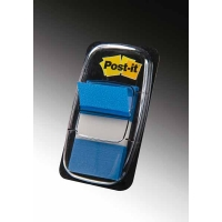 50 Index Post-It 25x44 Bleu