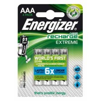 4 Accus AAA ENERGIZER Extreme 700 mAh