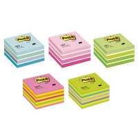 Cubes de notes Post-It 76x76 Bleu pastel