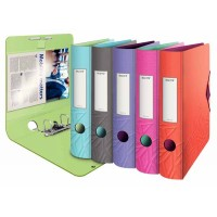 Classeur LEITZ Urban Chic Dos de 52 mm Couleurs assorties