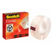 Adhésif SCOTCH Crystal Clear 19mm x 33m
