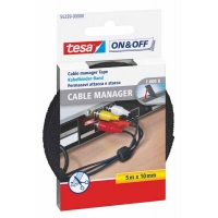 Cable manager TESA noir