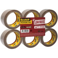 SCOTCH Flat Pack - Brun - 50 mm x 66 m – 6 Rouleaux/Paquet