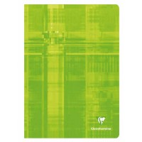 Cahier CLAIREFONTAINE A4 120P Q5 90gr ass s/m